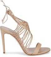 Casadei Leather Stiletto Sandals