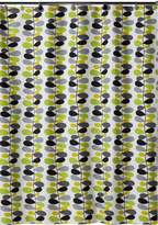 Creative Bath Products Inc. S1056MULT Juniper Shower Curtain, Green