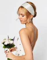 Asos WEDDING Seedbead Headband