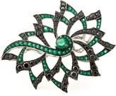 Stephen Webster diamond flower ring