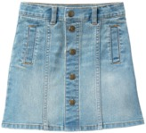 Crazy 8 Button Jean Skirt