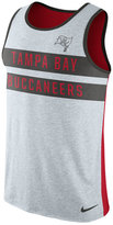 Nike Men's Tampa Bay Buccaneers Stripe Tri Tank