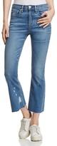 Rag & Bone Crop Flare Jeans in Maybrook - 100% Exclusive