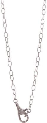ADORNIA Diamond Lock Lariat - 0.70 ctw
