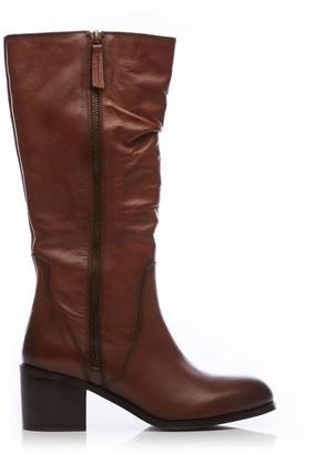 Moda In Pelle Lilicia Tan Leather