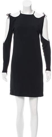 Tom Ford Cold Shoulder Mini Dress