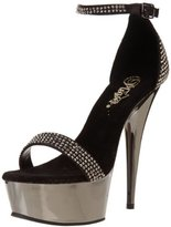 Pleaser USA Women's Delight-617 PWCH Platform Sandal