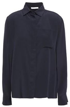 Maje Silk Crepe De Chine Shirt