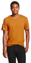 Mossimo Men's V-Neck T-Shirt Brown M