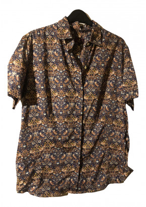 Liberty of London Designs Brown Cotton Tops