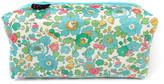 Alice Caroline - Box Cosmetic Bag - Liberty Betsy Turquoise