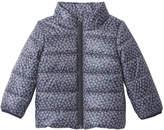 Joe Fresh Baby Girls' Butterfly Print Puffer Jacket, JF Midnight Blue (Size 18-24)