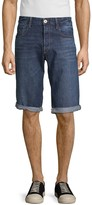G Star Raw Button-Fly Denim Shorts