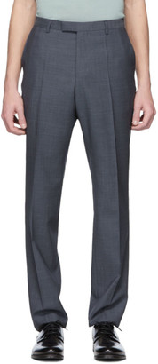 BOSS Blue Wool Leenon1 Trousers