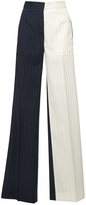 Off-White Pinstripe Pants