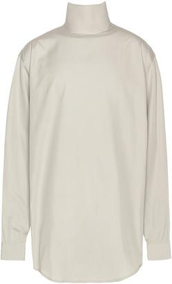 Fear of God Exclusively for Ermenegildo Zegna Oversized Shirt in London Fog | FWRD