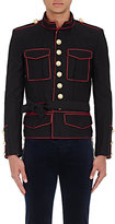 Balmain Men's Sargent Pepper Piped Cotton Twill Jacket