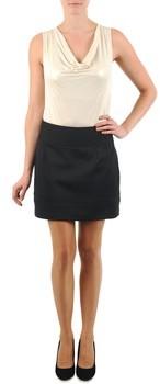 La City JUPE SMOK women's Skirt in Black
