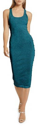 Cushnie Scoop Neck Sleeveless Knitted Dress