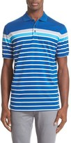 Paul & Shark Men's Regular Fit Stripe Polo