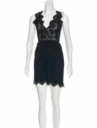 Stella McCartney Mini Sleeveless Dress Black