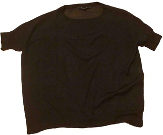 Tara Jarmon Black Wool Top for Women