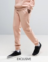Puma Logo Joggers In Pink Exclusive To Asos 57533102