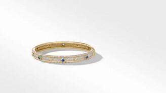 David Yurman Modern Renaissance Narrow Bracelet In 18K Yellow Gold