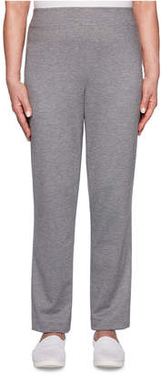 Alfred Dunner Petite Classics Proportioned Pull-On Pants