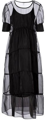 Sir. Maelie silk organza maxi dress