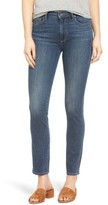 Paige Women's River High Waist Ankle Peg Straight Leg Jeans