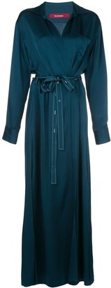 Sies Marjan Aviva wrap-front dress