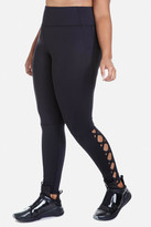 Fashion to Figure Flexie High Waist Lattice Active Leggings