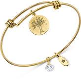 Unwritten Gold-Tone Family Adjustable Bangle Bracelet