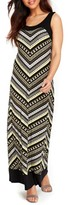 Wallis Women's Blocked Chevron Maxi Dress