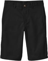 Chaps Boys 8-20 Husky Flat-Front Twill Shorts