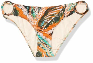 Milly Women's Tropical Leaf Barbados Bikini Bottom