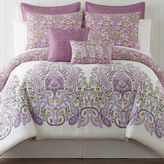 Asstd National Brand Roselle Lilac 5-pc. Comforter Set