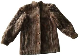Christian Dior Beige Faux fur Coat for Women