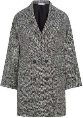 RED Valentino Chevron Cocoon Coat