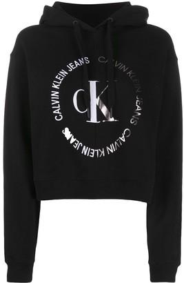 Calvin Klein Jeans Logo Printed Hoodie
