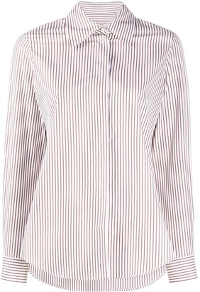 Alberto Biani Striped Cotton Shirt