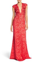 Jovani Women's Embellished Lace Gown
