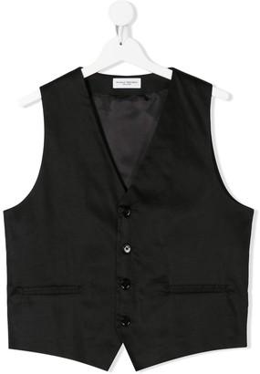 Paolo Pecora Kids TEEN single breasted waistcoat