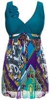 MiYang Women's Shaping Body Swimsuit One-Piece Swimwear Spa Suit Size tag 4XL/UK size XL