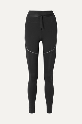 Nike City Ready Paneled Stretch Leggings - Black