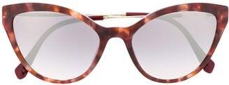 Miu Miu Cat-Eye Tortoiseshell Sunglasses