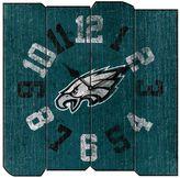 Philadelphia Eagles Vintage Square Clock