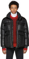 Acne Studios Black Down Minus Gloss Jacket
