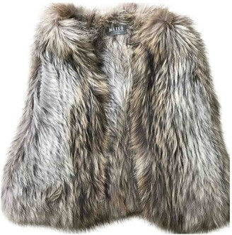 Meteo Brown Fur Knitwear for Women